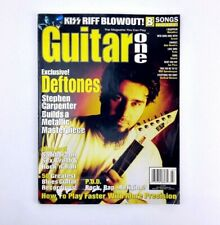Guitar One Magazine July 2000 Deftones Kiss Metallica Staind Jimi Hendrix Creed