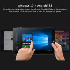 4/ 64GB CHUWI HI10 PLUS 10.8'' Tableta PC Win10+Android Intel 2-CÁMARA 3G WIFI
