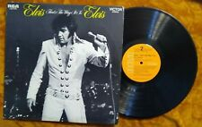Elvis Presley LP That's The Way It Is RCA LSP 4445 VG++ VG+ 1971