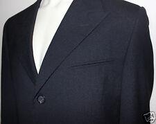 GIANNI VERSACE COUTURE vintage exquisite tailored black suit 52