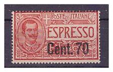 REGNO ESPRESSI 1924 - Centesimi 70 su 60   Nuovo **