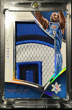 SERGE IBAKA 2014-15 IMMACULATE CHRISTMAS DAY 4 COLOR GAME USED PATCH CARD SP /20