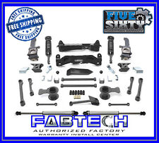 """Fabtech K7025DL 6"""" Performance System 10-13 Tacoma -2.5 Coilovers/Dirt Logic SS"""