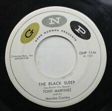 Hear! Exotica Mambo Popcorn 45 Tony Martinez - The Black Sleep / Robins Mambo On