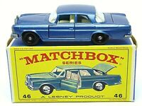 Matchbox Lesney No.46c Mercedes-Benz 300SE In Type 'E4' Series 'NEW MODEL' Box