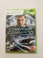 Carrier Command: Gaea Mission Microsoft Xbox 360 *Factory Sealed! *Free Ship!