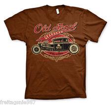 HOT ROD Old Skool Gearhead  T-Shirt camiseta 100% cotton