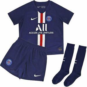 Genuine Nike Paris Saint Germain Kid's Home Kit 2019/20, Size: 5-6 years