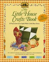 My Little House Crafts Book Laura Ingalls Wilder's (Paperback) FREE shipping $35