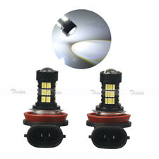 2X 54 LED HID White H11 Car HeadLight Fog Driving Light 6000K Bulbs PGJ19/2 Lamp