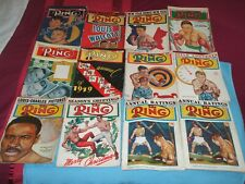 50 THE RING BOXING MAGAZINE FROM 1948 ONWARDS