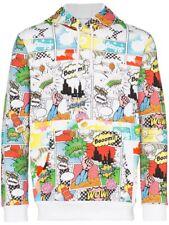 Comme Des Garcons SHIRT Comic Book Print Pullover Hoodie Hooded Sweatshirt
