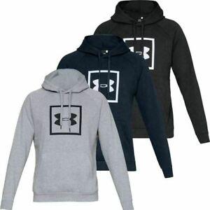 Under Armour UA Rival Fleece Logo Hoodie Mens Hoody Jumper overhead pullover