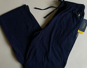NWT Mens Polo Ralph Lauren Lightweight Relaxed Fit Knit Pajama Lounge Pants S