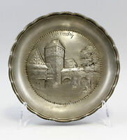 99833114 Piatto Decorato in Rilievo Norimberga 1.H.20.Jh. Henkersteg D22cm