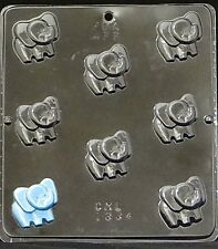 Baby Elephant Bite Size Chocolate Candy Mold 1334 Baby Shower Favor/Cupcake