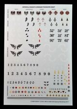 Imperial Knight Titan Armiger Transfer Sheet Warhammer Decals Warglaive Helverin