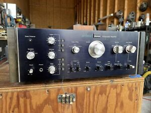 sansui au-11000a integrated amplifier & preamp )Works Perfect