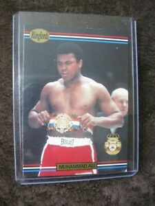 1991 RINGLORDS #40 THE GREATEST MUHAMMAD ALI HALL OF FAME RARE CARD