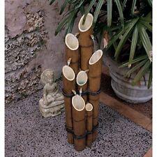 KY1712 - Cascading Bamboo Sculptural Fountain w/Pump!