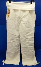 LOLE Women's Glides Summer Lite Pants, Organic White, Size 8, 45% Organic cotton
