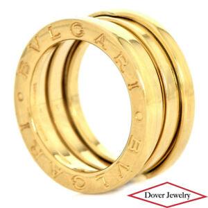 BVLGARI 18K Gold B Zero 1 Band Ring 8.8 Grams NR