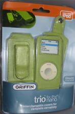 Griffin TRIO for Apple iPod Nano Case Cover Protector LEATHER NEW Interchangable