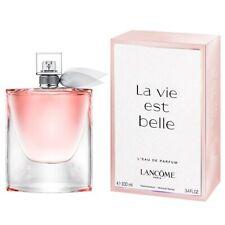 La Vie Est Belle by Lancome Eau De Parfum for Women Autantic 100ml/3.4 oz NIB