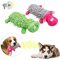 Pet Dog Cute Animals Shape Squeaking Stuffed Toys Interactive Toy Plush Toys UK