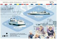 Finnjet Passenger Ship Nordic MNH Sheet Finland 2014
