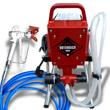 ROTENBACH Airless Paint Sprayer Spray Gun including Ease to Clean Filter