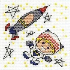 Être une fusée Homme Cross Stitch Kit-faire un souhait-DMC