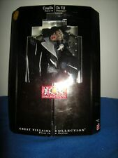 Villains series Cruella De Vil 101 Dalmations mean lady doll MIB Disney