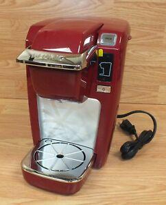 Genuine Keurig (K10) Red Mini Personal Coffee Maker / Brewer **READ**