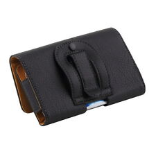 Clip Belt Holster Leather Protective Case Cover for Samsung Galaxy S4 S3 EM