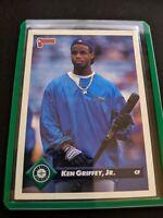 1993 Donruss Baseball Card #553 Ken Griffey Jr. Seattle Mariners