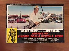 FOTOBUSTA,AGENTE 007,L'UOMO DALLA PISTOLA D'ORO Man With The Golden Gun R.MOORE