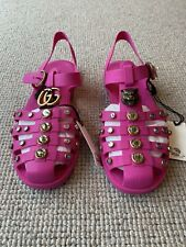 Brand New Pink Gucci Shoes Size 40 With Dust bags And Box