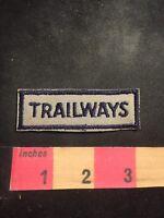 Vintage TRAILWAYS Tab Patch C91M