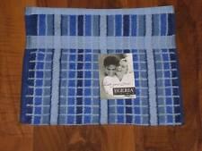 """Angebot!! Gästetuch Egeria """"Manhatten"""" 30x50 blau Karo / Handtuch"""