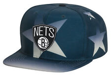 7d96d5b17ea Mitchell   Ness BROOKLYN NETS NEW YORK NBA Basketball STARS Snapback Hat  NWT  35