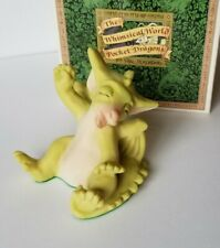 """""""Rise and Shine"""" Whimsical World of Pocket Dragons by Real Musgrave with box"""