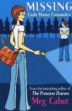 Code Name Cassandra (Missing) Meg Cabot Very Good Book