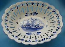Earthenware Delft Pottery Bowls