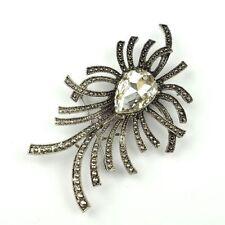 Diamond Rhinestone Unbranded Costume Brooches & Pins