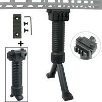 Tactical Vertical Grip Foregrip W/ M-Lok 5Slots Rail Section for MLOK Handguard
