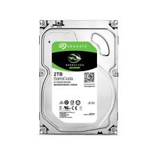 "Seagate BarraCuda 2TB SATA III 3.5"" Hard Drive - 7200RPM, 64MB Cache"