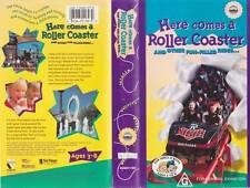HERE COMES A ROLLER COASTER VHS VIDEO PAL~ A RARE FIND~