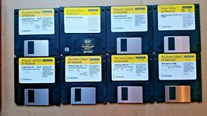 "8 Norton/Symantec floppy disks for Macintosh ~ 3.5"" NDD    1994"