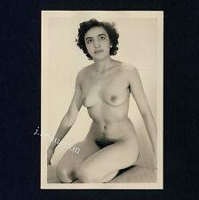 #366 RÖSSLER AKTFOTO / NUDE WOMAN STUDY * Vintage 1950s Studio Photo - no PC !
